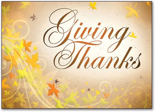 A Heartfelt Thanks This Thanksgiving!