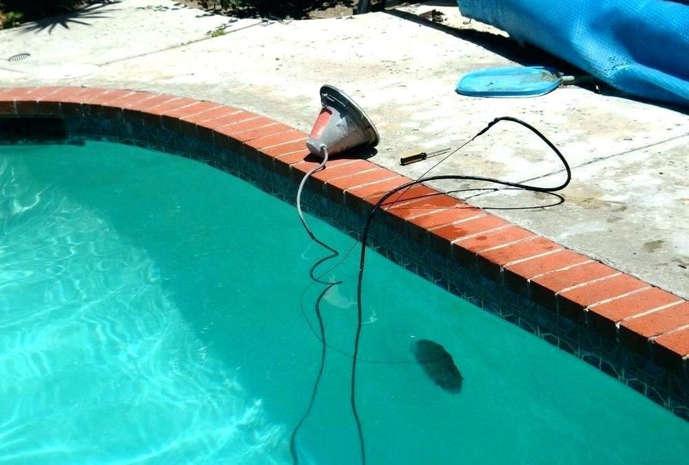 Changing Out A Pool Light