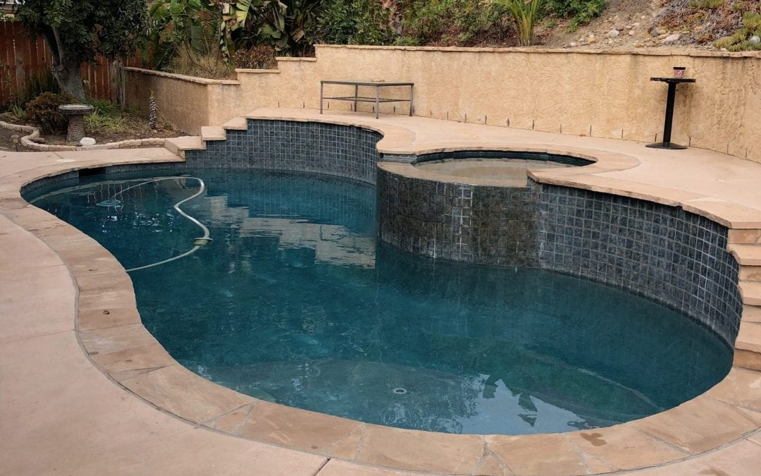 Calcium Scaling On Swimming Pools