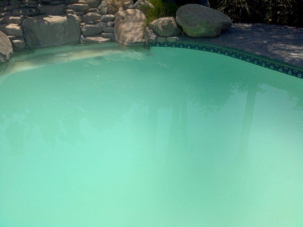 Blue Cloudy Pool Water After Shocking Las Vegas Pools