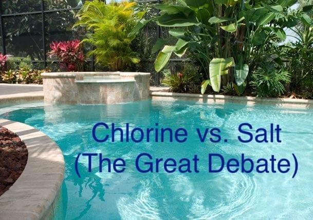 Chlorine vs. Salt Water Swimming Pools!
