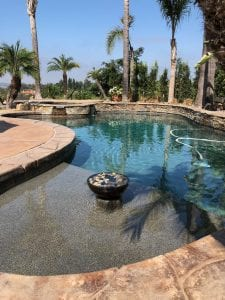 Pool water recycling Las Vegas
